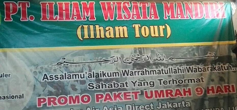 Calon Jemaah Umroh Resah, Travel PT. Ilham Wisata Mandiri diduga Tipu Hingga Ratusan Juta