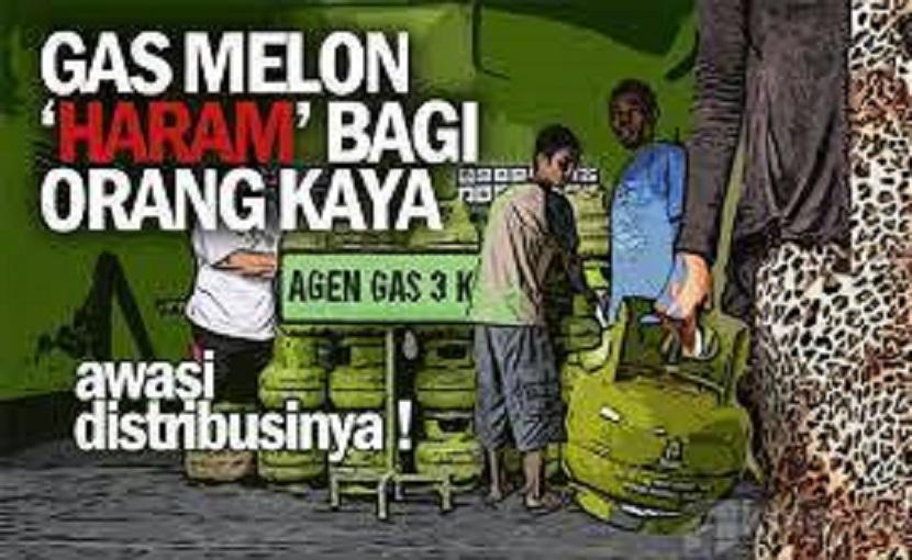 Jual Gas 3 Kg di Atas HET, Pangkalan Bisa Dipidana Atau PHU