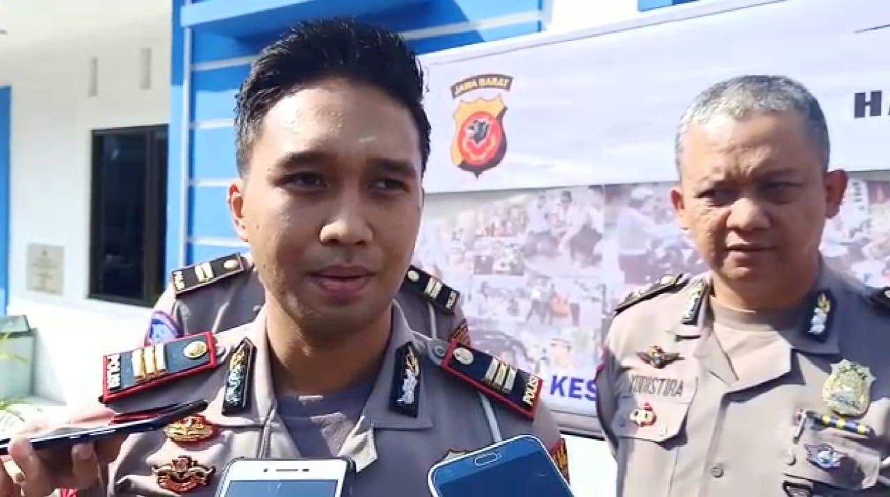 Kasat Lantas Polres Cianjur Sampaikan Hasil Operasi Patuh Lodaya 2019